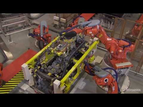 production - Watch the BMW i3 being built from start to finish. Part 3: body pressing, assembly, and painting. http://www.testdriven.co.uk/2014-bmw-i3/