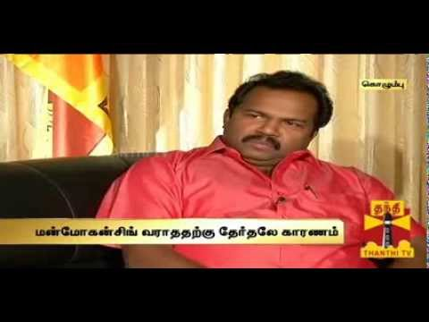 Karuna - Exclusive interview with Col.Karuna Thanthi TV இலங்கையில் போரின் மறுபக்கம்: OTHER SIDE OF SRI LANKA WAR. Write to us: feedback@dttv.in Catch us Live @ www.th...