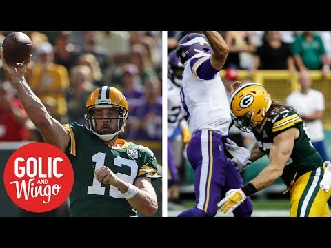 NFL Week 2 breakdown: Green Bay Packers tie with the Minnesota Vikings | Golic & Wingo | ESPN (видео)