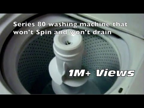Washing Machine Won't Spin Easy Fix