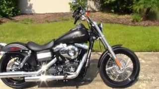 9. New 2012 Harley-Davidson FXDB Dyna Street Bob
