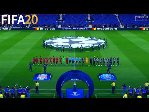 FIFA 20 DEMO | PSG vs Liverpool - UEFA Champions League - Full Match & Gameplay