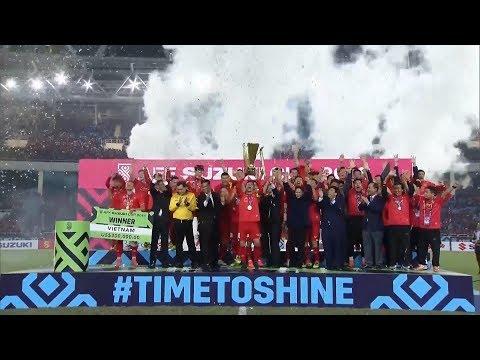 Bản tin bóng đá sáng 16/12 | Đội tuyển Việt Nam lên ngôi vô địch AFF CUP 2018 - Thời lượng: 5:00.