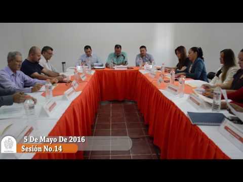 Sesión Extraordinaria No. 14 de Ayuntamiento 5 de mayo de 2016