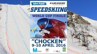 Idre Sweden  city photos gallery : Speedskiing World Cup Finals in Idre Sweden 2016