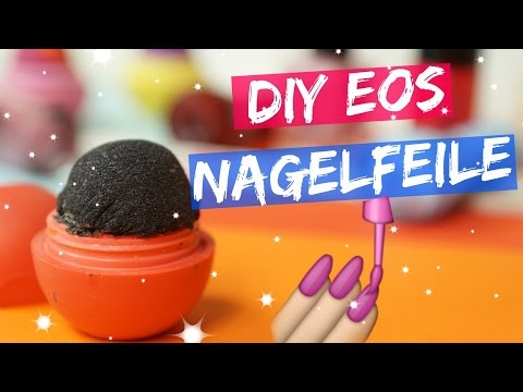 DIY EOS NAGELFEILE