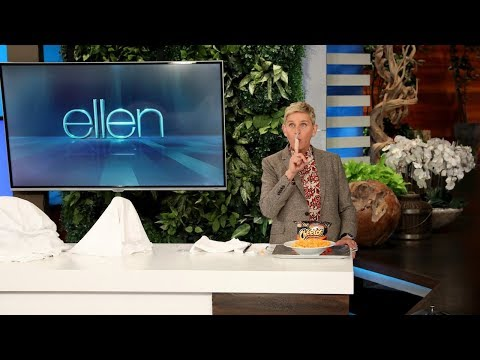 Ellen's New Ways to Eat Cheetos