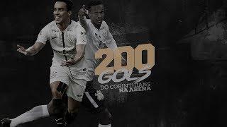 No empate entre Corinthians e Atlético Paranaense no último sábado, Jô marcou o gol de número 200 da Arena Corinthians. Relembre alguns gols marcantes do Timão na nossa casa!