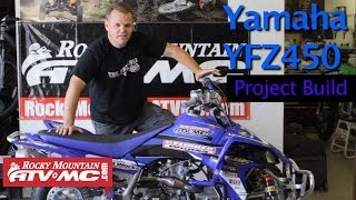 6. Yamaha YFZ450 Project Build