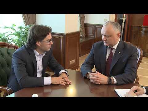 Президент страны провел рабочую встречу с новым министром иностранных дел и европейской интеграции