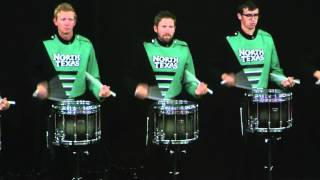 UNIVERSITY OF NORTH TEXAS DRUM LINE Gliwice 24 October 2014 SHOW