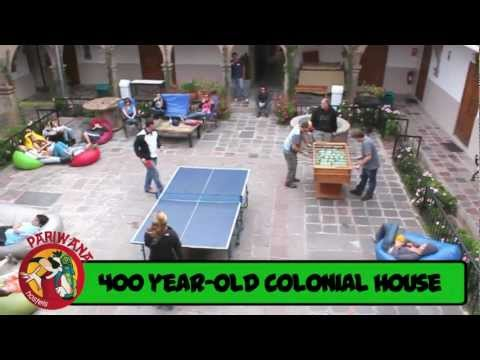 Wideo Pariwana Hostel Cusco