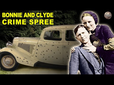 A Timeline Of Bonnie And Clyde's Spree Of Love And Crimes