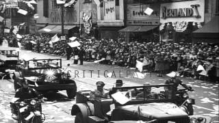 Nonton General Patton and Lieutenant General Doolittle of US Army return after World War...HD Stock Footage Film Subtitle Indonesia Streaming Movie Download