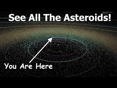 If You Could See All The Asteroids, What Would The Sky Look Like?