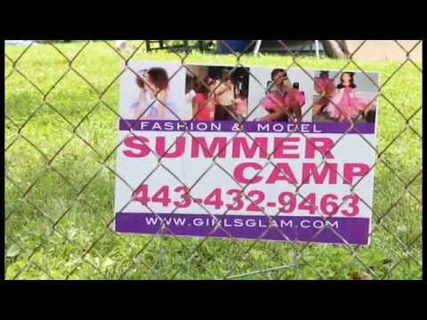 Girls Glam Summer Camp promo