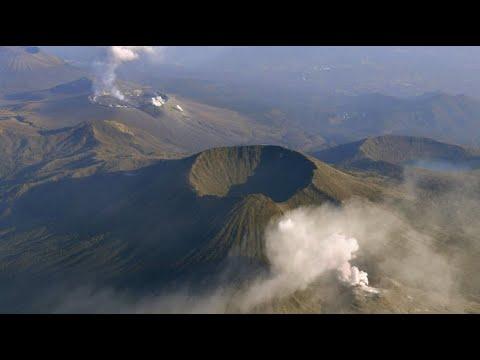 """Nach 250 Jahren: Vulkan """"Mount Iwo"""" in Japan vor Ausb ..."""