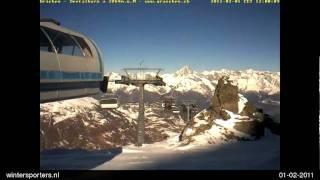 Grächen Seetalhorn webcam time lapse 2010-2011