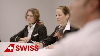 Experience a day with our crew. World of SWISS: ...
