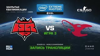 HellRaisers vs mousesports - IEM Katowice Qual EU - map3 - de_cobblestone [GodMint, SleepSomeWhile]