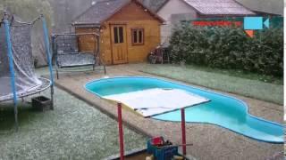 APRÍLOVÉ POČASÍ SE UKAZUJE V PLNÉ KRÁSE. Do Česka se vrátil sníh