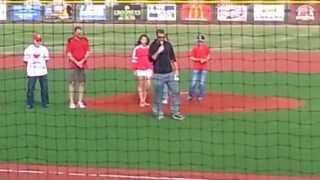 Fort Scott (KS) United States  city photos gallery : LaRoche Baseball Complex-Dave Regan Stadium Opening Ceremonies Fort Scott, Kansas