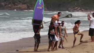 Sup Life Brasil - Super SUP Praia Mole Wave Challenge 2016