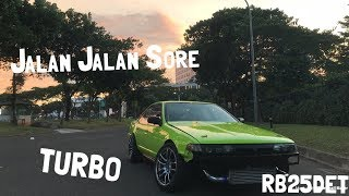 Video Jalan Jalan Sore Naik Cefiro RB25DET TURBO MP3, 3GP, MP4, WEBM, AVI, FLV Januari 2019