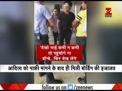 Watch: Singer Aditya Narayan threatens Indigo airline's officer at Raipur Airport