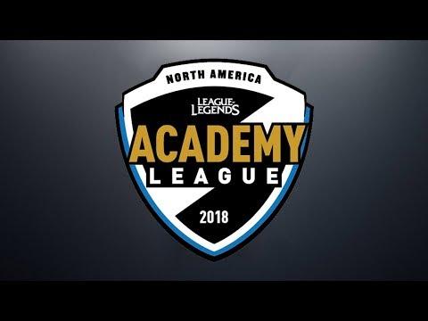 C9A vs. 100A | Week 2 | NA Academy Spring Split | Cloud 9 Academy vs. 100 Thieves Academy (2018)
