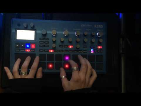 Korg electribe 2 Acid tribe [EDGR] (видео)