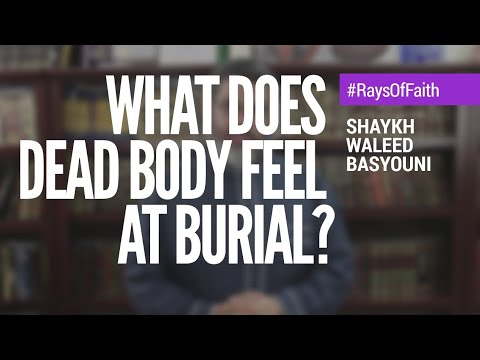 What Does The Dead Body Feel Or Hear Before Burial? | Rays Of Faith | Waleed Basyouni
