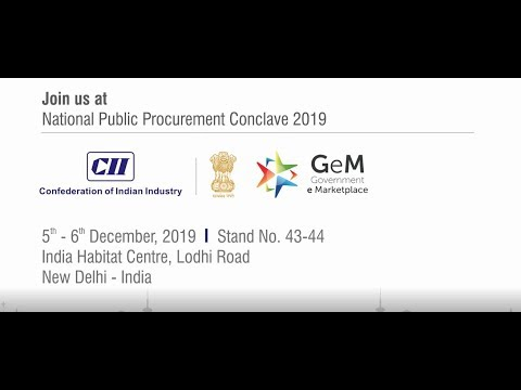 Matrix Comsec at National Public Procurement Conclave - New Delhi | 5th - 6th December, 2019