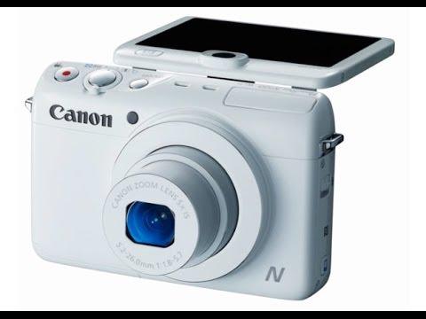 CES 2014: Canon Powershot N100
