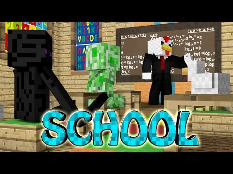 school - Minecraft gets a new mods and that's the School Mod! The School Mod allows you to use your textbooks to create some amazing structures, kill monsters and even play sports! ▭▻ SUBSCRIBE:...