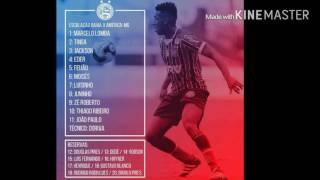 Escalação Bahia - Bahia X América-MG - Copa do Brasil 2016 - 2° Fase