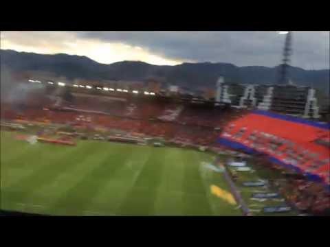 La hinchada mas linda del MUNDO!!! (Salida Monumental II) - Rexixtenxia Norte - Independiente Medellín