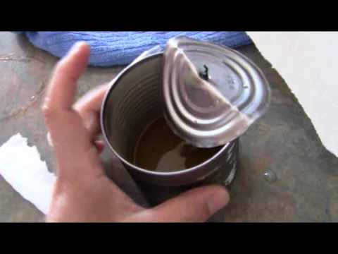 Biofuel Biodiesel Oil Lamp from Waste Vegetable Cooking Oil - How to make Free Energy