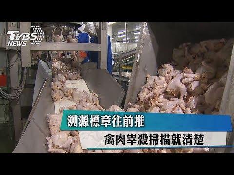 【TVBS】溯源標章往前推 禽肉宰殺掃描就清楚