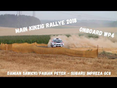 Main Kinzig Rallye 2018 | Sawicki/Peter - Subaru Impreza | Onboard WP4