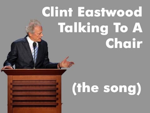 1340 - FOLLOW me on Twitter: http://twitter.com/songadaymann Clint Eastwood Talking To A Chair Song A Day #1340 G E Clint Eastwood talking to a teradactyl G A Clint...