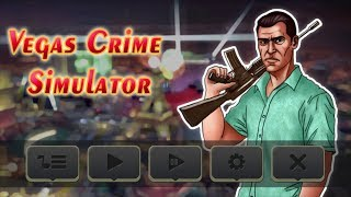 Vegas Crime Simulator (by Mine Games Craft) Android Gameplay