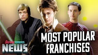 The Most Popular Franchises Ever - Charting with Dan! by Clevver Movies