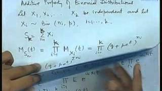 Mod-01 Lec-21 Joint Distributions - IV