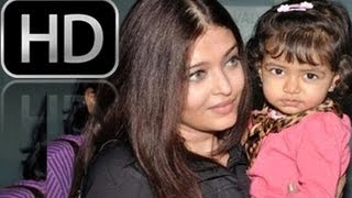 Aishwarya Rai with Her Daughter Aaradhya Bachchan Photos
