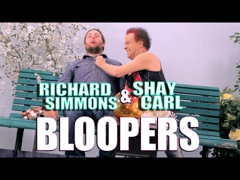 RICHARD SIMMONS BLOOPERS
