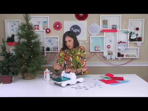 DIY With Sharyn Sowell: Holiday Snowflake Cards