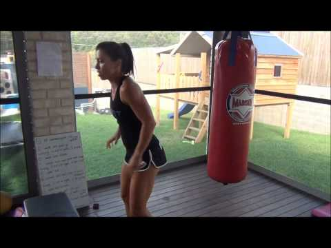 Medicine Ball and Bag Boxing Workout