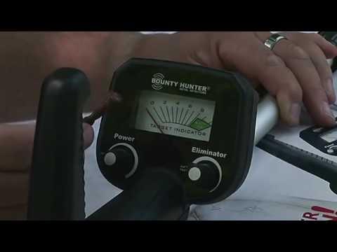 Видео Детский металлоискатель BOUNTY HUNTER Junior