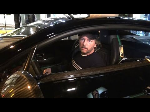 David Spade Slams Chris Brown Before Driving Away In New $200k Bentley GT